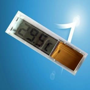 Multi-functioneel LCD 3D digitale elektronische temperatuurmeting vis tank aquarium thermometer (goud)