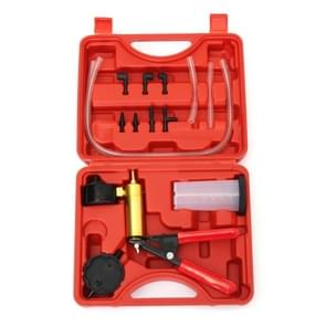 2 in 1 Brake Fluid Bleeder Change Hand Held Vacuum Pistol Pump Tester Kit