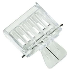 2 PCS  Plastic Book Clip Type Bee King Cage Beekeeping Tool