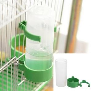 10 PCS Practical Birds Feeding Equipment Parrot Bird Drinker Watering Feeder with Clip(S)