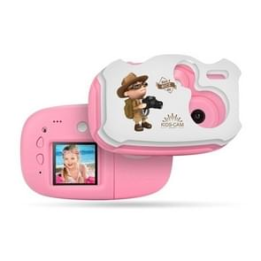 Mini Kids Digital Video Camera Children Boys Girls Video Camera(Pink)