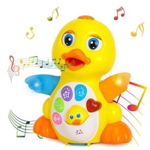 Elektrische dansen eend universele muziek baby speelgoed kinderen geschenken