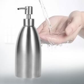 500ml Stainless Steel Soap Dispenser Kitchen Bathroom Shampoo Box Detergent Bottle