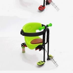 Volledige omsloten fiets zitplaatsen voor kinderen (groen)