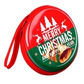 3 PCS Mini Tin Box Sealed Jar Small Storage Cans Baroque Kid Packing Xmas Candy Box(Christmas Series 01)