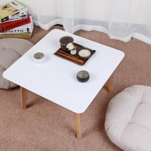 Cafe Tables Cafe Furniture Home Furniture Solid Wood Table Coffee Table(White)