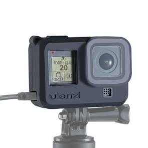 Ulanzi G8-3 voor GoPro HERO8 Zwart Siliconen hoesje met lenscover