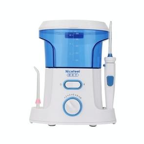 Nicefeel Dental Floss Oral IrrigatorTooth Cleaner Water Flosser(Blue+Whte)