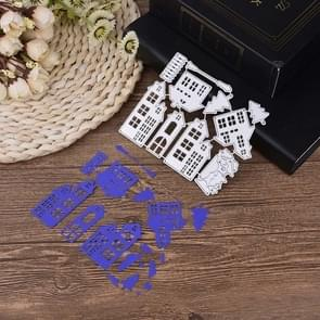 Christmas House Carbon Steel Die Cutter Album Photo Greeting Card Cutter