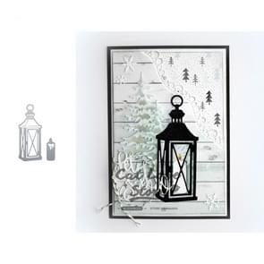 Lantern Candle Carbon Steel Knife Mold DIY Photo Album Cutting Book Greeting Card Embossing Cutting Knife Mold
