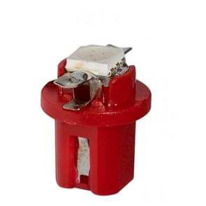 10 PCS T8.5 5050 Led 1 SMD Car Gauge Dash Bulb Dashboard Instrument Light Wedge Interior Lamp(Red)