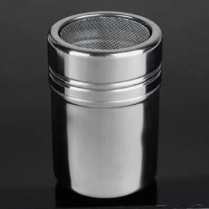 Stainless Steel 304 Dusting Powder Condiment Tank Fine Mesh Barrel Cocoa Powder Household Kitchen Tools