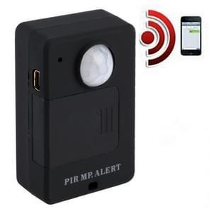 Mini PIR alert sensor draadloze infrarood GSM alarm monitor bewegingsmelder detectie Home Anti-diefstal systeem  EU plug