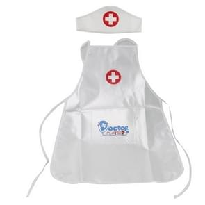 3 Sets Children Pretend Play Doctor Nurse Costume Performance Clothing Toy