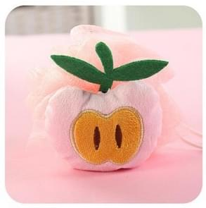 Cotton Cartoon Soft Baby Bath Sponge Powder Puff Newbron Infant Shower Towel Balls(Peach)