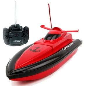 LT-NO800 F1 High Speed RC Boat Remote Control Race Boat 4 Channels for Pools Lakes, Color Random Delivery