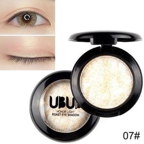 UBUB 3 stuks professionele naakt oogschaduw palet make-up matte oogschaduw (07 wit goud)