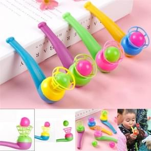 3 PCS Children Toy Suspension Blow Ball Nostalgic Toy Blowing Music Magic Hanging Ball, Random Color Delivery