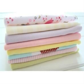 8 PCS/LOT Cotton Newborn Baby Towels Saliva Towel Baby Boys Girls Nursing Towel Handkerchief(Girls Color)
