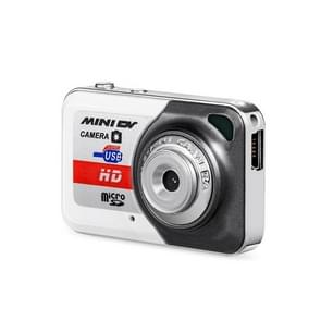 X6 Portable Ultra Mini HD Kids Digital Camera DV Camcorder with Key Ring, Support TF Card(Glamour Gray)