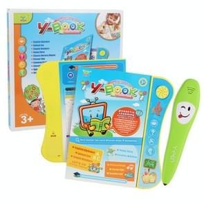 Early Childhood Education Machine Point Reading Machine Toy Verlichting Puzzel Leren Boek met Logica Leren Pen