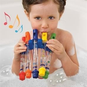 5 PCS/Set Children Colorful Water Flutes Bath Tub Tunes Toys Fun Music Sounds Baby Shower Bath Toy