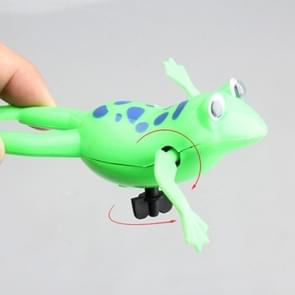 3 PCS Pool Bath Toy Wind-Up Swim Frog Kids Toy, Random Color