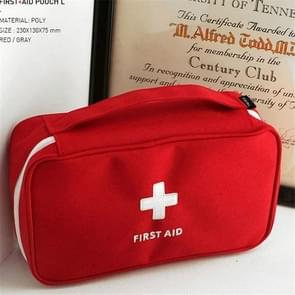 Travel First Aid Kit Bag Home Emergency Medical Survival Rescue Box(Red)