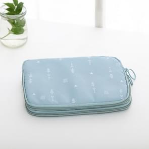 Multi-purpose Waterproof Travel Passport Wallet(Lake blue)