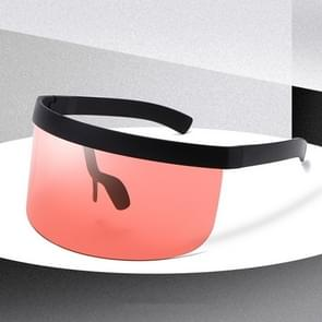 Anti-glurenzonspiegel geïntegreerde anti-schuim zonnebrandcrème masker  kleur: zwart frame rood