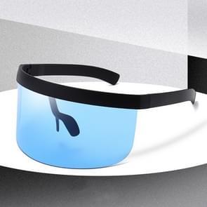 Anti-glurenzonspiegel geïntegreerde anti-schuim zonnebrandcrème masker  kleur: zwart frame blauw