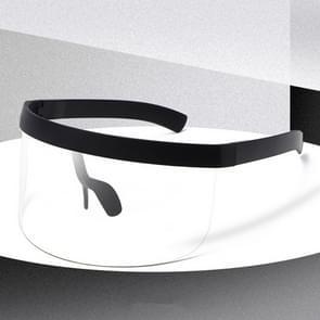 Anti-glurenzonspiegel geïntegreerde anti-schuim zonnebrandcrème masker  kleur: zwart frame transparant