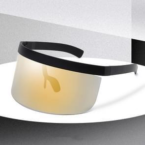 Anti-glurenzonspiegel geïntegreerde anti-schuim zonnebrandcrème masker  kleur: black frame lokaal goud