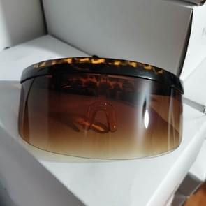 Anti-glurenzonspiegel geïntegreerde anti-schuim zonnebrandcrème masker  kleur: schildpad frame gradiënt