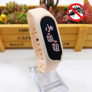 4 PCS Kinderen Anti-mug Plant Essential Oil Repellent Sports Bracelet (Oranje)