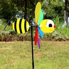 3D Cartoon Animal Cloth Windmill Children Toys Outdoor Decoration, Random Style Delivery