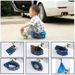 Children Disposable Dolding Portable Toilet Bedpan Seat Travel Mobile Toilet