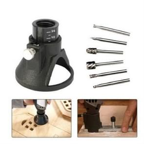 Electric Grinder Locator Milling Cutter Multi-rotation Tool Cutting High Speed Steel Router Drilling Tool