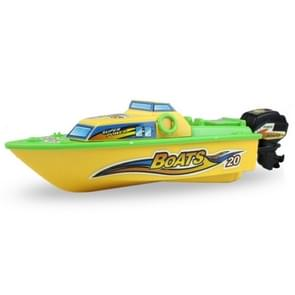 3 PCS High Speed Electric Toy Boat Plastic Launch Children Toy Speedboat Water Play Set Gift for Kids