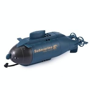 Rechargeable Mini 6-Channel Remote Submarine(Blue)