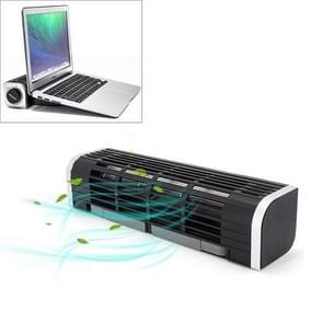 Laptop Radiator Hoge Lucht volume Koeling Basis  Stijl:Zwart