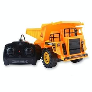 Electric 5 Channel Remote Control Engineering Vehicle Toy Kids Toy Gifts