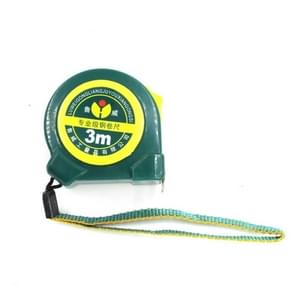 LW004 Industrial Grade ABS Plastic Anti-fall Durable Office Household Steel Tape Measure, Length:3m