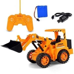 Electric 5 Channel Remote Control Bulldozer Engineering Vehicle Toy Kids Toy Gifts