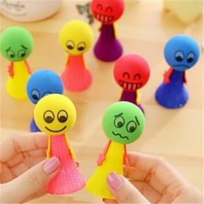 5 PCS Jumping Doll  Kids Bounce Ball Toys Creative Game Toys Gifts for Children, Random Style Delivery(6.5 x 3cm)