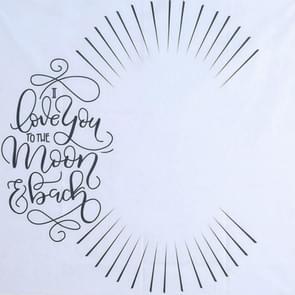 Pasgeboren peuter baby mijlpaal deken foto fotografie tool prop brief achtergrond klok kalender achtergrond deken (licht)