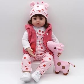 NPK Adorable Lifelike Silicone Baby Girl Doll