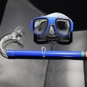 2 in 1 Summer Beach Swimming Snorkel + Duikbril set voor 2-8 jaar oude kinderen  grootte: one size(blue)