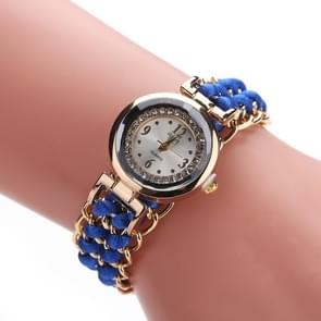 Sloggi 377 Women Knitting Rope Chain Quartz Wrist Watch(Blue)