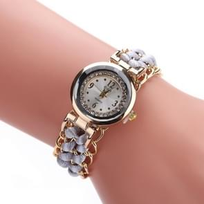 Sloggi 377 Women Knitting Rope Chain Quartz Wrist Watch(Grey)